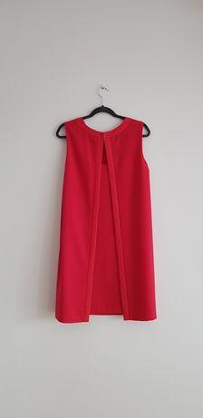 Czerwona sukienka na imprezę