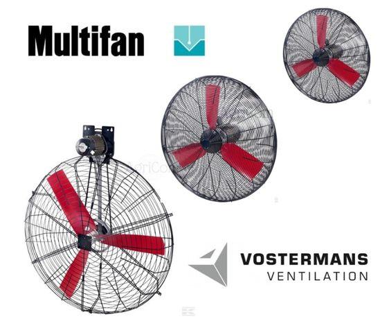 Multifan Wentylator Mieszacz powietrza koszowy fi 50, 71, 130 do obory
