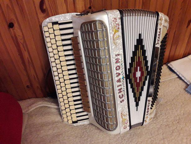 Harmonia 3 rzędowa, produkcji włoskiej - Schiavoni