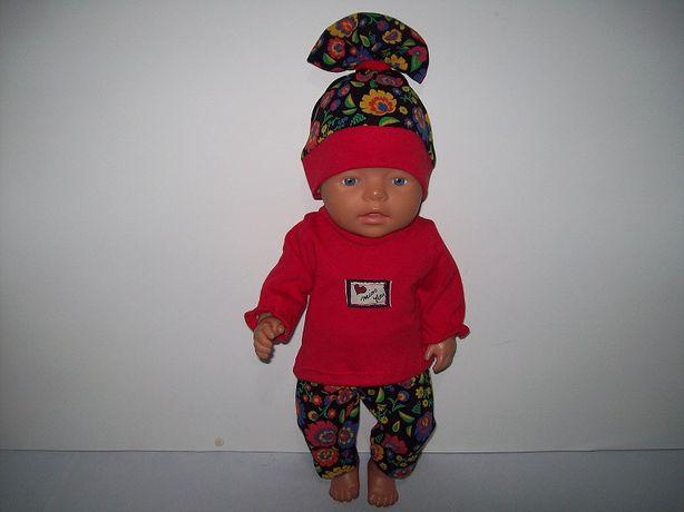 Komplet dla lalki 42-45 cm takiej jak baby born i podobne.