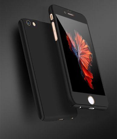 Чехол для iPhone 8 + с закаленным стеклом