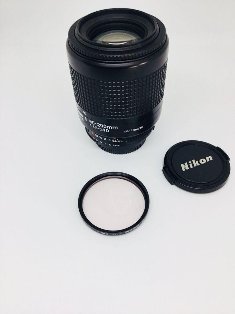Nikon AF Nikkor 80-200mm 1:4.5-5.6 D