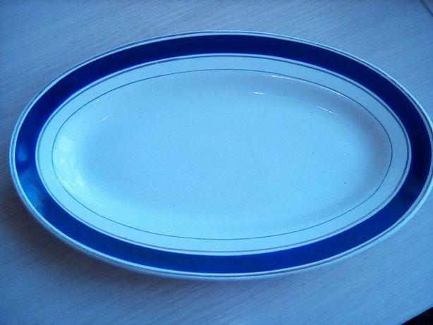 Керамические блюда для кухни овальное и круглое, времен СССР