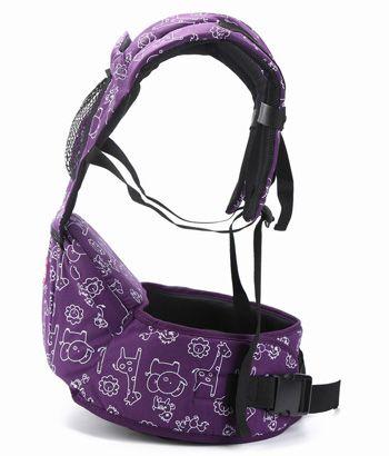 Эрго рюкзак фиолетовый