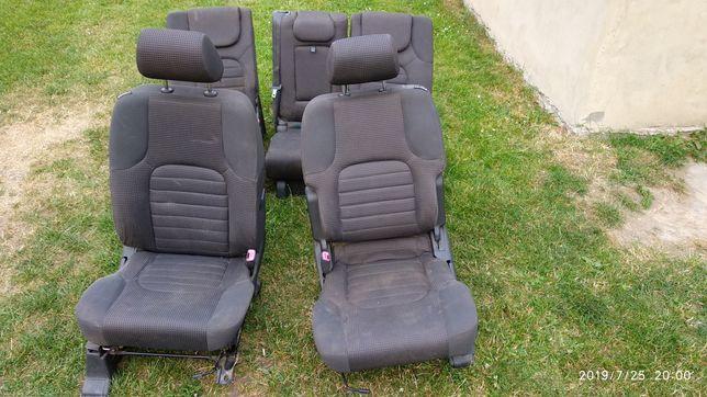 Сидіння салон обшивка чехлы Nissan Pathfinder R51 сиденья Navara D40