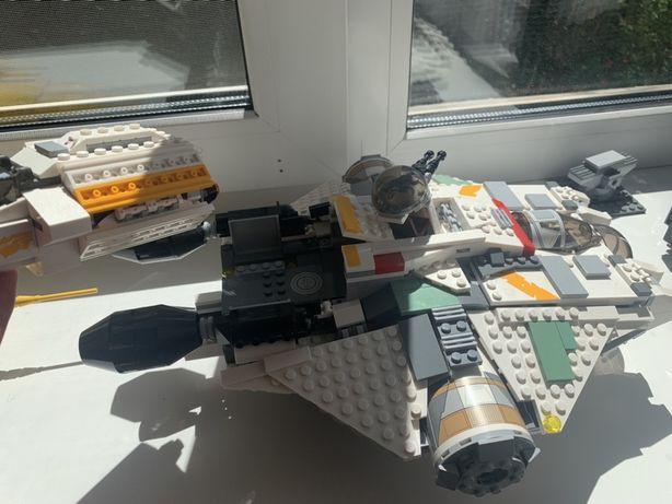 Скидка! Lego star wars 75053 призрак + 75048 фантом