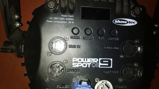 Showtec Power Spot q6 9
