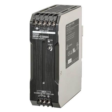 Zasilacz Omron S8VK-C12024 napiecie 24VDC 24DC 5A 120W