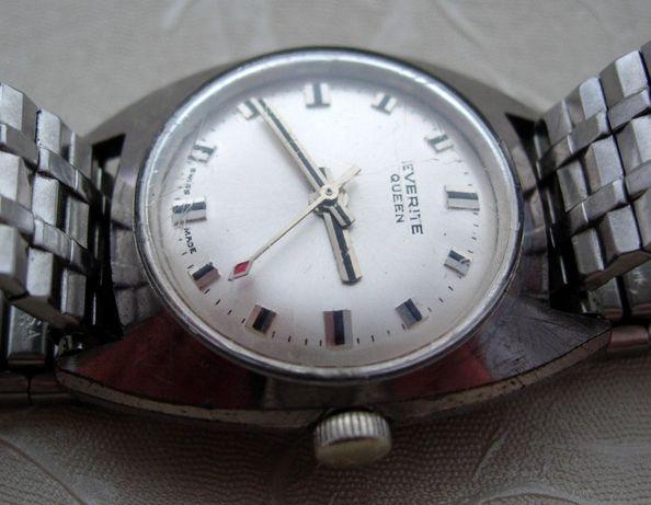 Damski szwajcarski zegarek marki EVERITE QUEEN 17 jewels