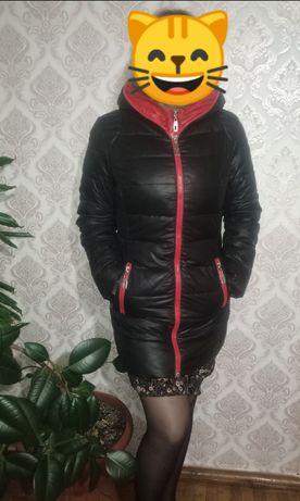 Продам холлафайбер, пуховик, зимнее пальто