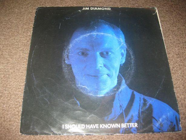 "Vinil Single 45 rpm do Jim Diamond ""I Should Have Known Better"""