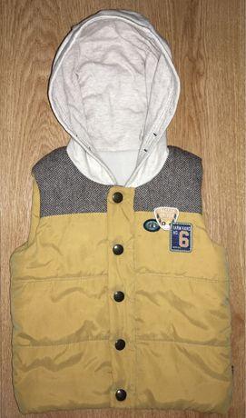 Детская жилетка для мальчика Nutmeg Zara Next(возраст 2-3 года)
