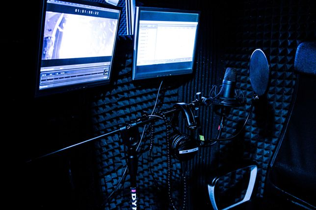 Studio Kalifornia / Studio Nagrań / Lektor Dubbing / Nagrania