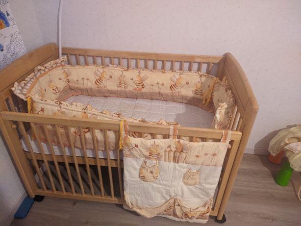 Кровать детская с бортиком