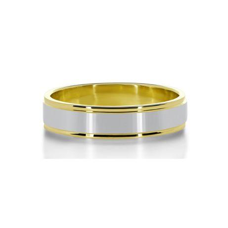 Pełna Elegancji Złota Obrączka Ślubna