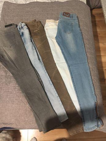 Paczka jeansow