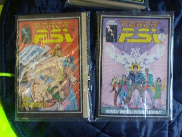 """Vendo revistas da bd marvel """" FORÇA PSI """""""