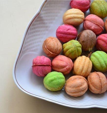 Орешки со згущенкой печенье ручная работа