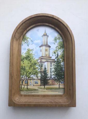 Картина с Ивано-Франковска «Ратуша»