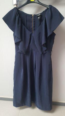 sukienka h&m dekolt xs