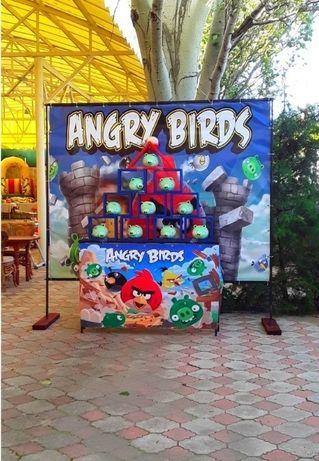 Продажа аренда аттракциoна Аngry Вirds (Сeрдитыe Птички!)