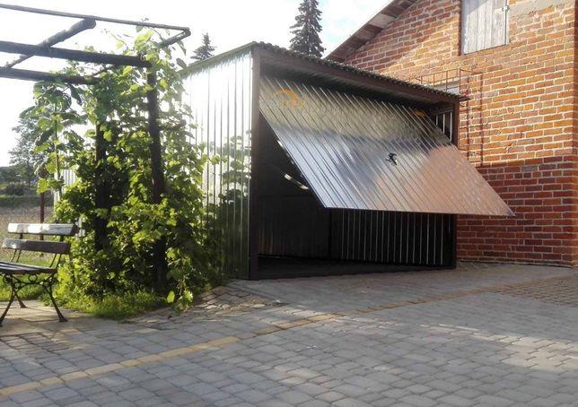 Garaż blaszany , garaze blaszaki schowki , kojce PRODUCENT