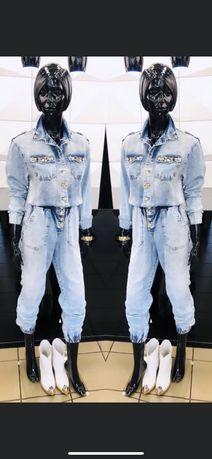 Kombinezon jeansowy D&She