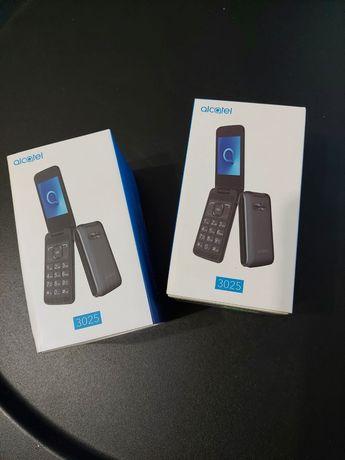 NOWY Telefon z klapka Alcatel 3025 2 szt