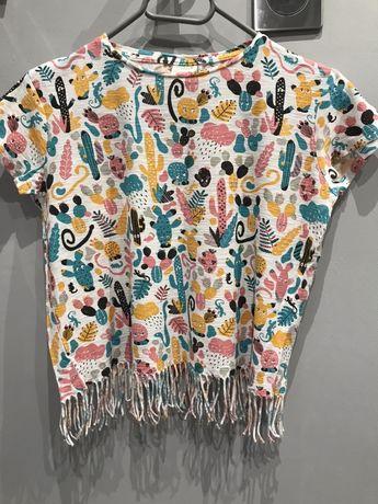 Wzorzysta bluzka Zara r. 152