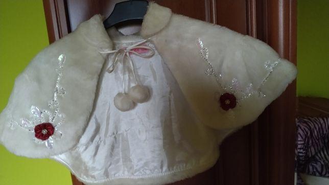 Narzutka do sukienki w rozmiarze 134-140