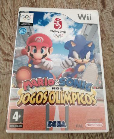 Jogo Mario/Sonic Jogos Olímpicos Wii