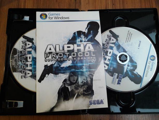 Gra Alpha Protocol PC DVD - szpiegowska gra rpg PL