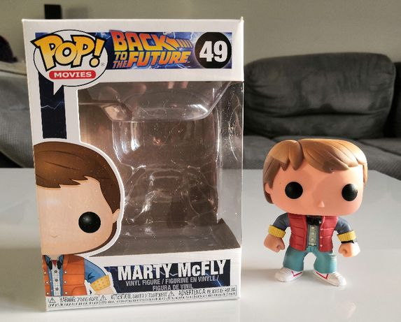 Figurka FUNKO POP! Marty McFly 49 / Back to the Future / UNIKAT!
