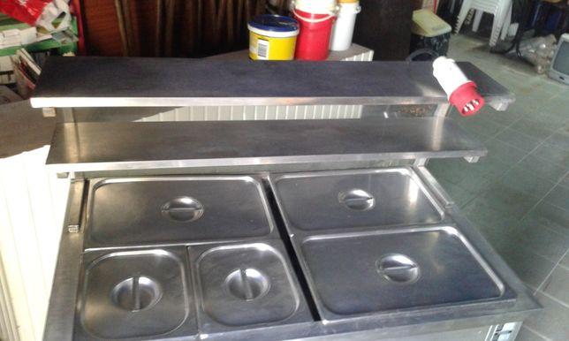 Banho Maria 5 compartimentos