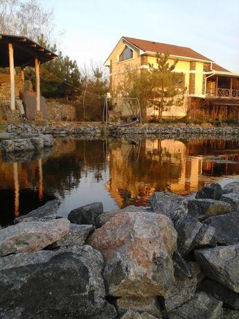 Дом посуточно с искусственным озером для купания