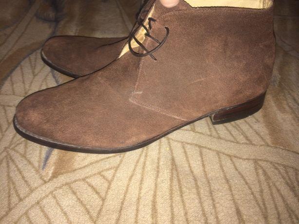 Ботинки кожаные 31,5 см