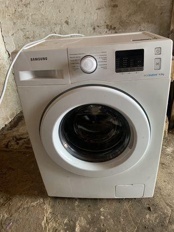 Samsung 6 кг Eco bubble WF60F4E0W0W