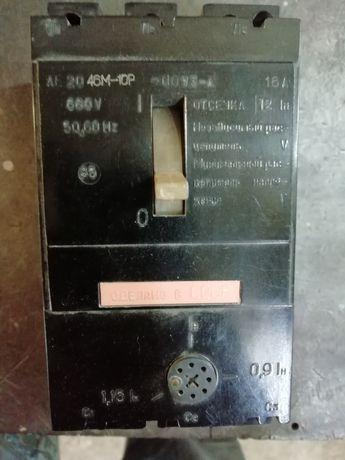 Автоматический выключатель 3-х фазный