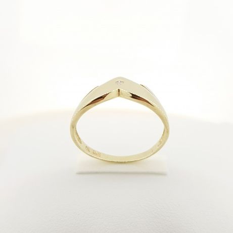 Złoty pierścionek p.585 roz.12