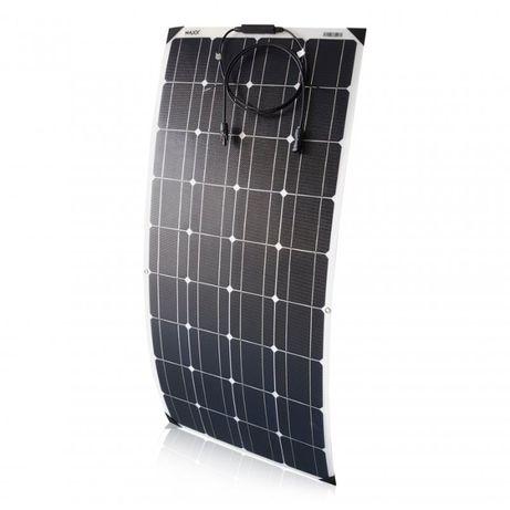 Panel słoneczny elastyczny flex 100W kamper kempingowa