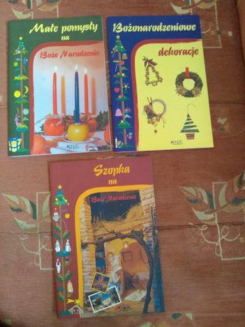 Książka o Bożonarodzeniowych dekoracjach