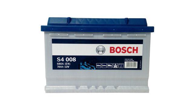 Akumulator samochodowy BOSCH s4 74Ah/680A