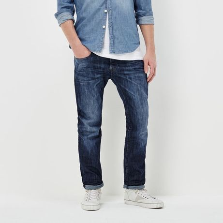 G STAR RAW Attacc Straight Jeans spodnie jeansy NOWE GSTAR Oryginalne