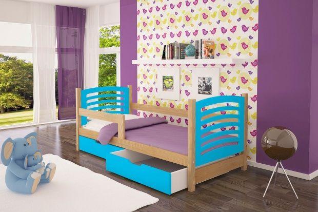 Łóżko Olek Dziecięce łóżko parterowe z szufladami !