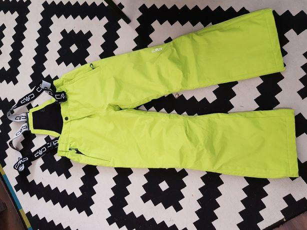 Spodnie narciarskie ocieplane 152cm