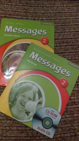 Messages 2 students book, workbook