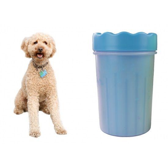 KUBEK CZYŚCIK SILIKONOWY DO ŁAP psa kota zwierząt kolory rozm L Chotomów - image 1