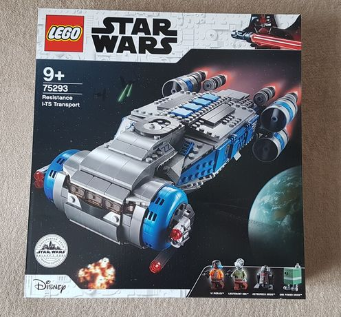 LEGO Star Wars 75293 Resistance I-TS Transport nowy bez figurek
