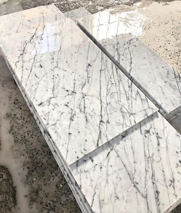 Włoski Marmur Bianco di Carrara 60cm Poskwitów - image 1