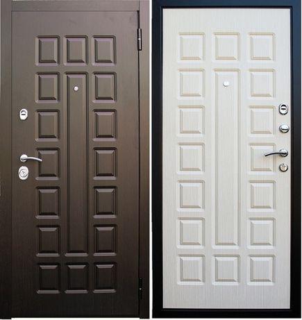 Входные, металлические, стальные двери МДФ+МДФ! 860х2040, 960х2040.